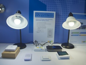 NXP_CES_2014_wireless_smart_lighting_demo
